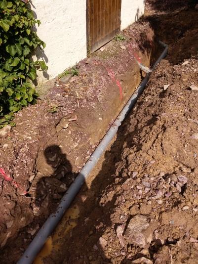 Branchement au réseau d'eaux usées